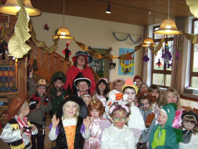 Pfarrei Rimbach Expositur Zenching Kindergarten Feierte Fasching