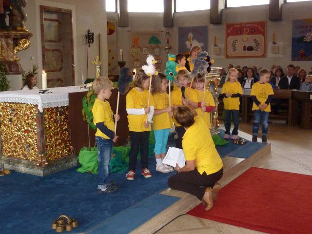 Gottesdienst Kindergarten Freundschaft